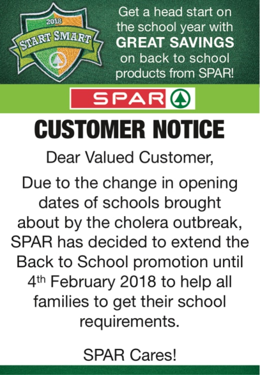 'Back 2 School' promotion extended