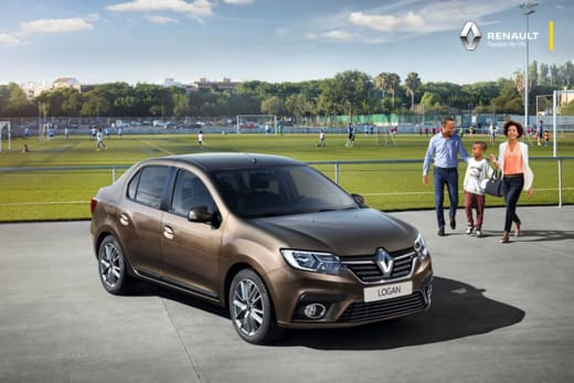 New Renault car with adaptation to Zambian weather