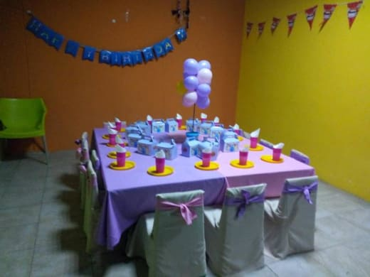 Pyjama party package available at Funky Frogs