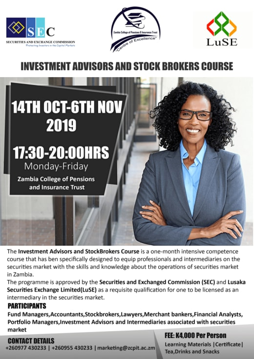 Investment Advisors and StockBrokers Course