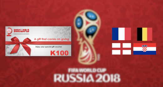 World Cup Competition: Win a K100 Bookworld Gift Voucher