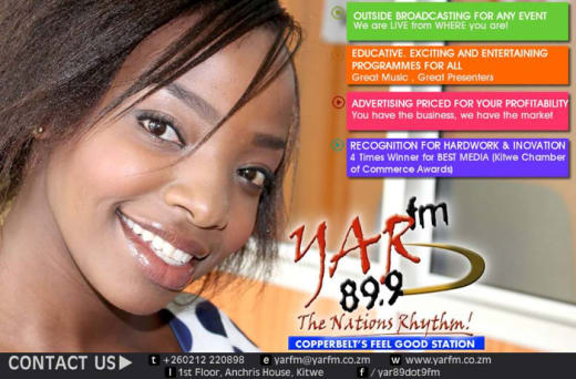 Frequency is 89.7 FM