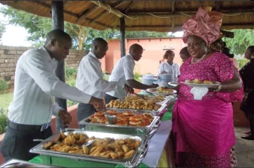Smooth running dining service for an event of any kind