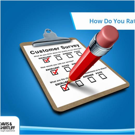 Customer survey at Davis and Shirtliff