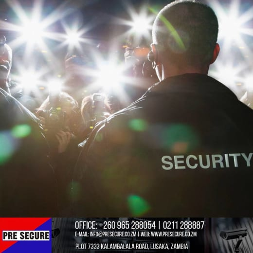 Event security services available