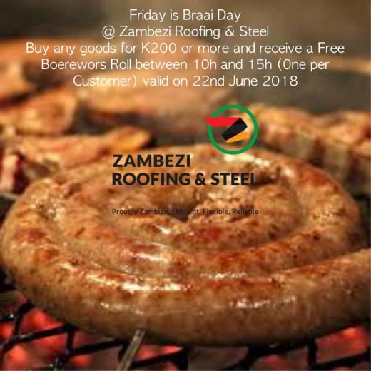 Friday braai day offers