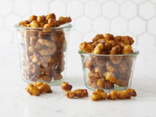 Caramel corn puff recipe to try