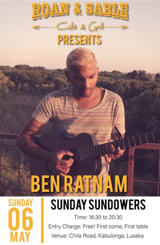 Sundowners with Ben Ratnam