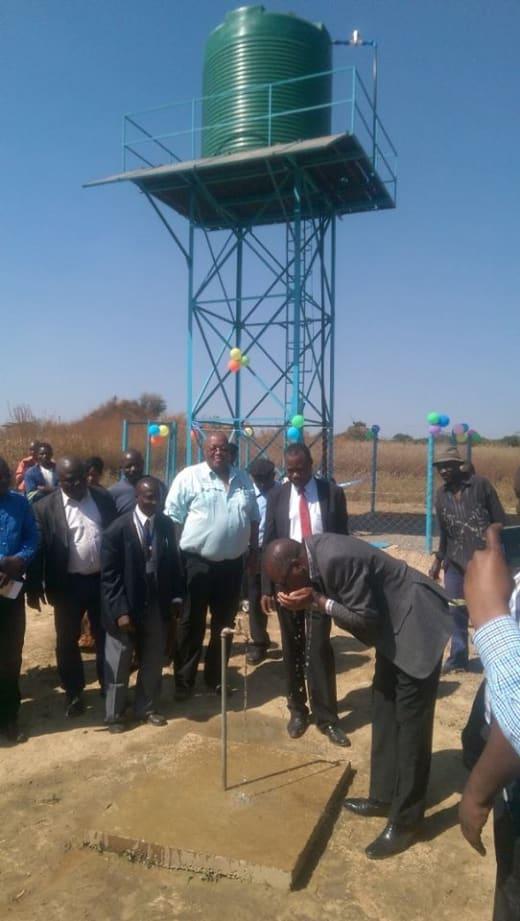 Water pumps installed in rural communities in Chingola