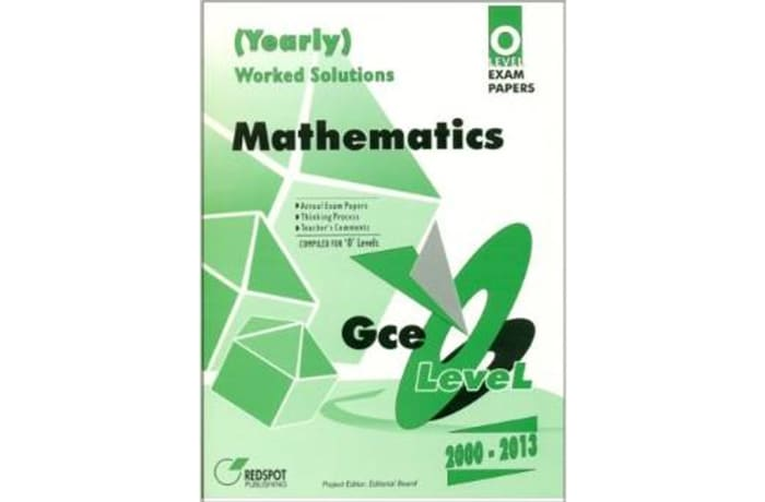 GCE O Level Mathematics (Yearly) | Bookworld