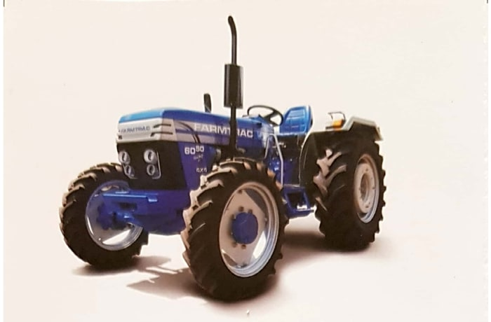 Farmtrac 6075 - 4WD Tractor | Growmore Equipment Ltd