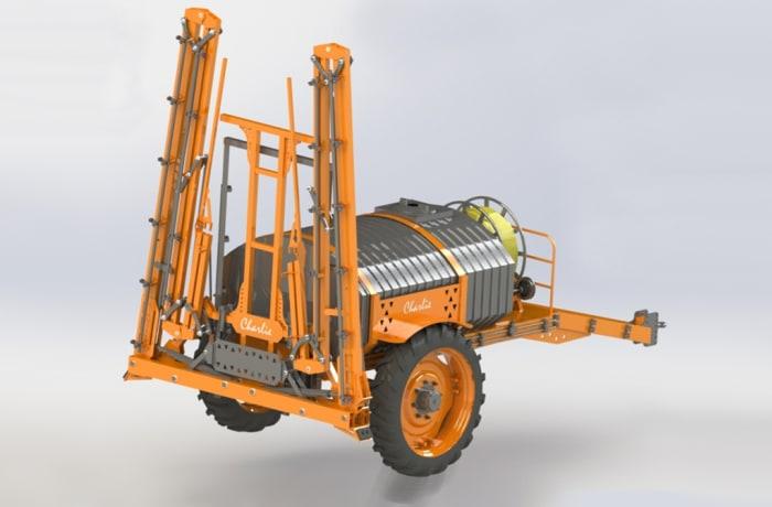Trailer Boom Sprayer | Growmore Equipment Ltd