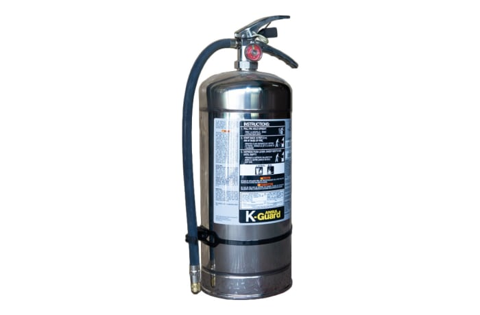 Fire Extinguishers - Wet Chemical Kitchen Extinguisher (Ansul K-Guard)-