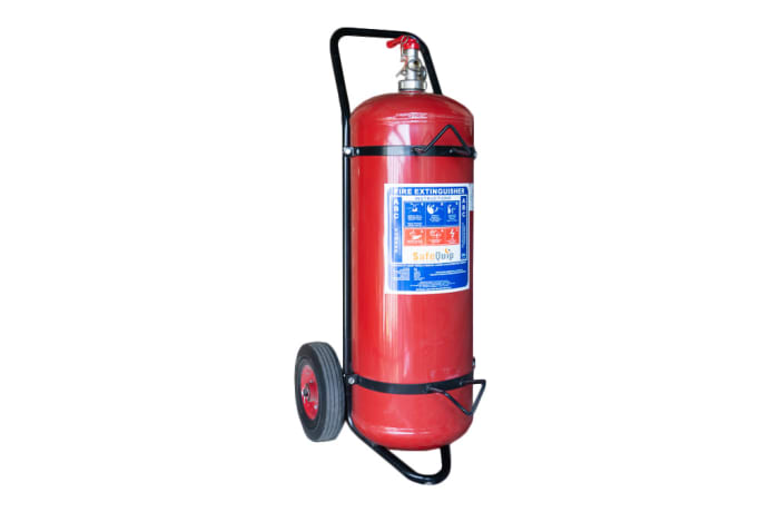 Fire Extinguishers -   Powder with trolley