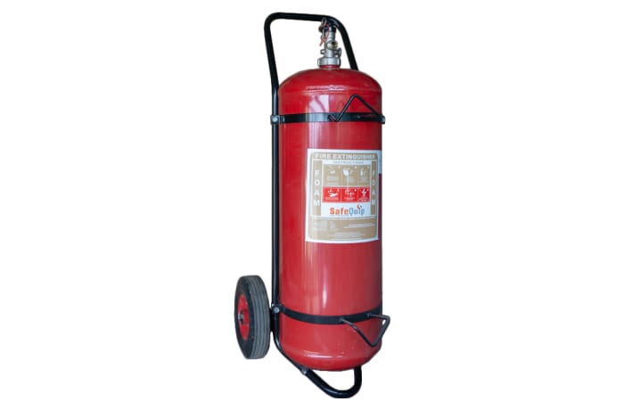 Fire Extinguishers - Foam Fire Extinguisher with trolley
