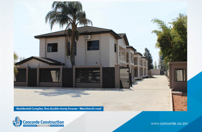 Residential property construction image