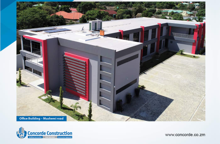 Commercial property construction image