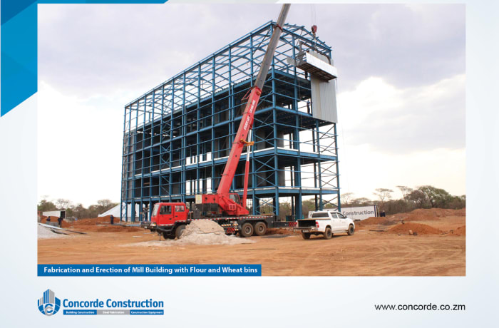 Industrial property construction image