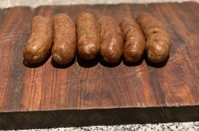 English Style Breakfast Sausages