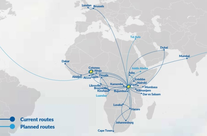 RwandAir in Zambia image