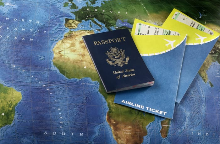 Tickets and Visas image
