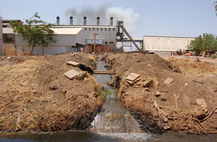 Industrial waste management image