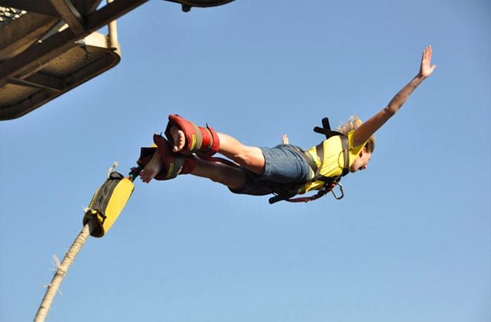 Bungee jumping image