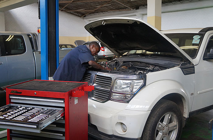 Car servicing and repairs image