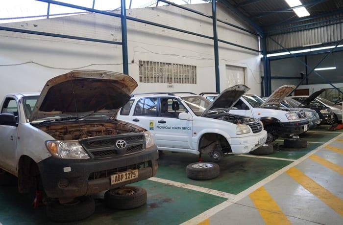 Car servicing and repairs image