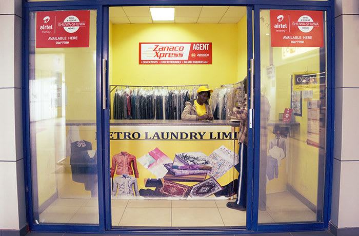 Dry cleaning and Laundry services image
