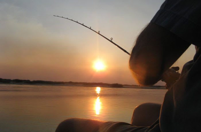 Fishing image