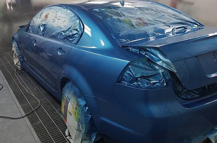 Car panel beating image