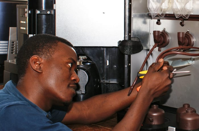 Industrial equipment servicing image