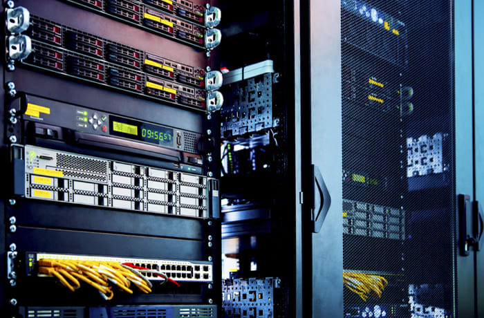 Web hosting services image