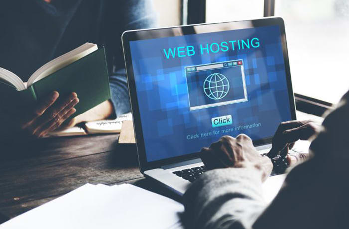 Web hosting services image