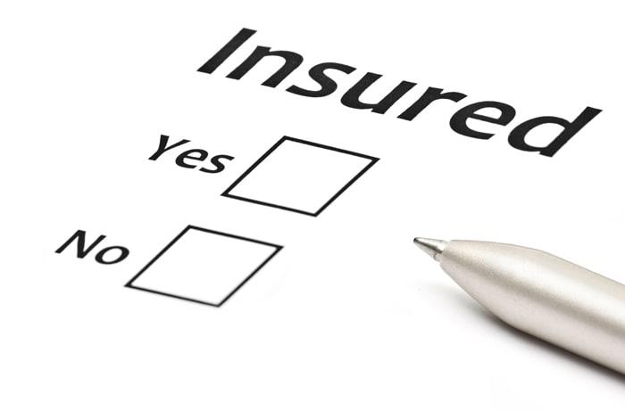 Business liability insurance image
