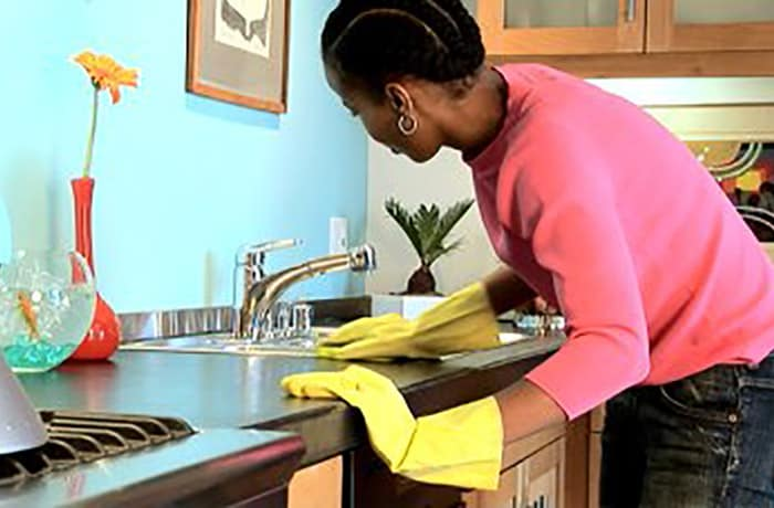 Domestic cleaning image