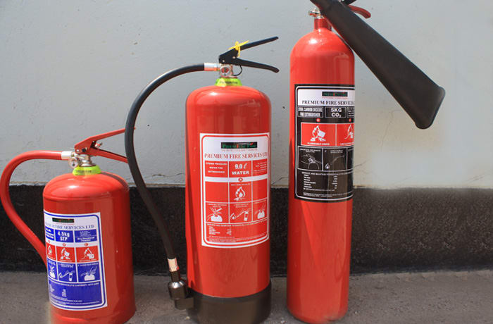 Fire safety equipment image