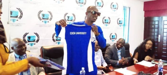 Eden University endorses Macky 2 as their brand ambassador