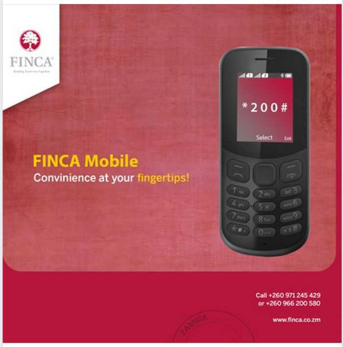 FINCA Mobile convenient at your finger tips!
