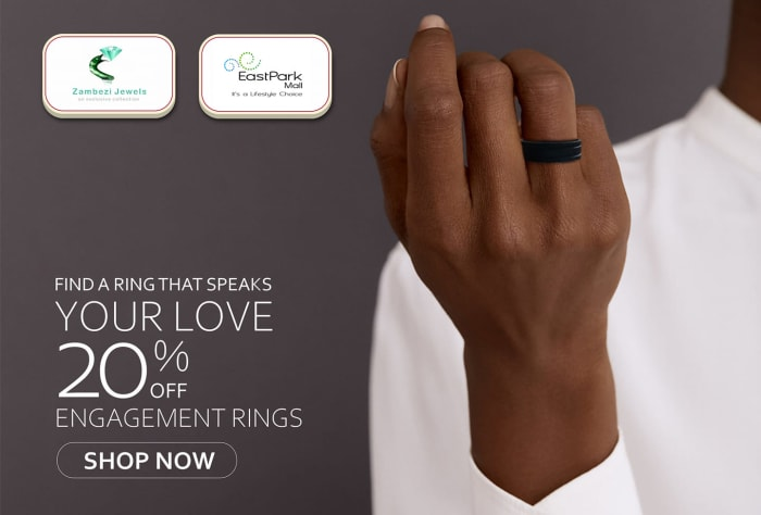 20% Off engagement rings - shop now!