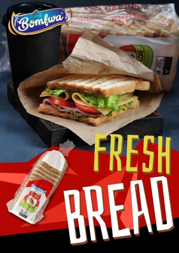 Fresh milk bread