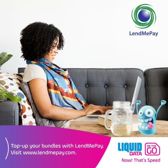 Top - up your bundles with LendMePay
