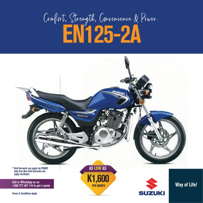 Comfort, strength, convenience and power - EN125 - 2A