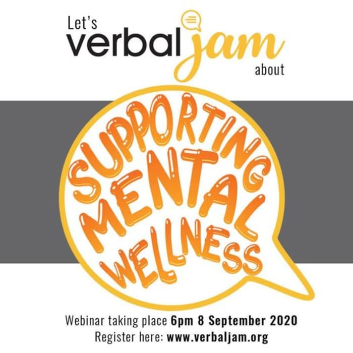 Join AISL for a Verbal Jam webinar – 'Managing Anxiety and Supporting Mental Wellness'