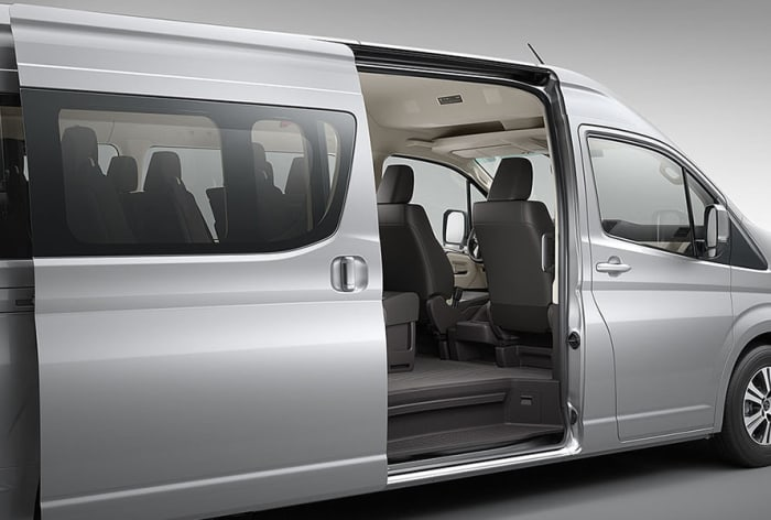 HIACE give you a choice of engines to suit your lifestyle needs