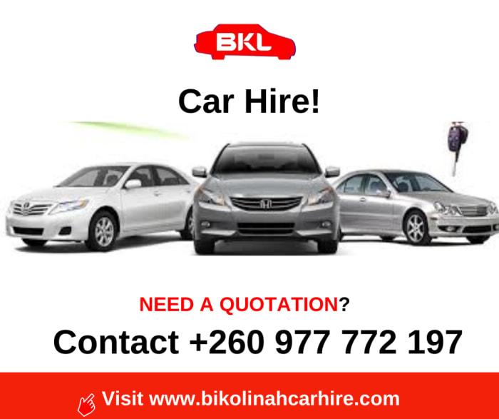 Affordable car rental hire