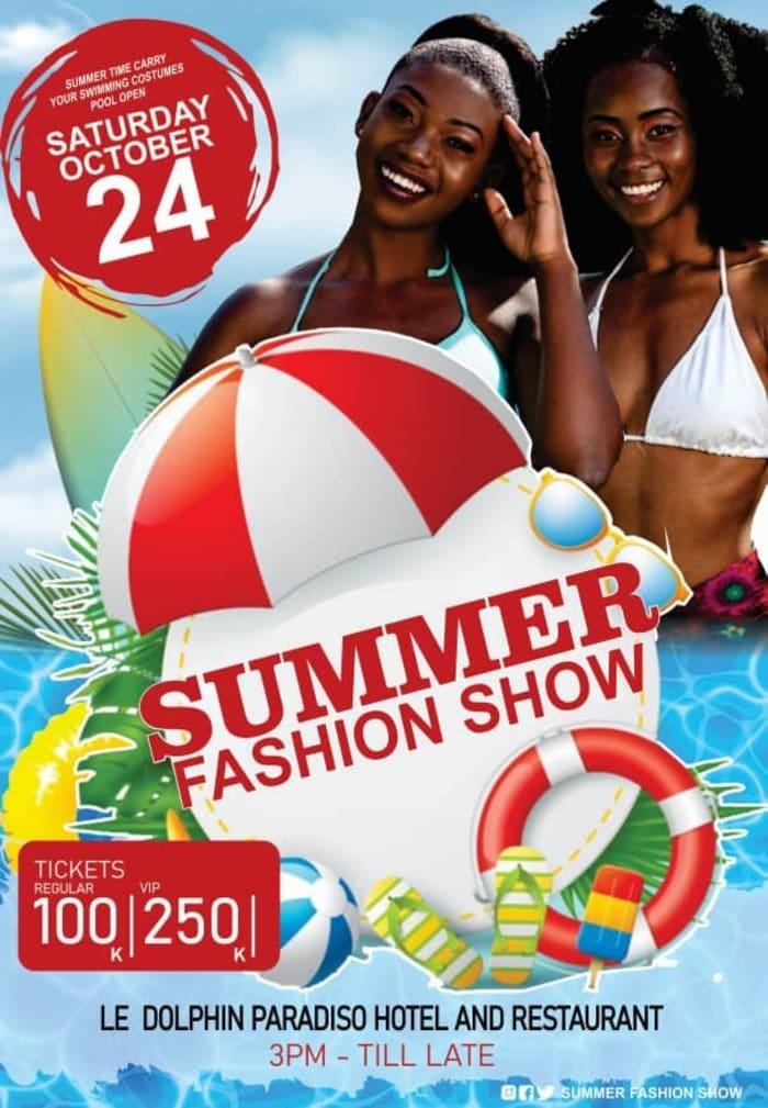 Summer Fashion show
