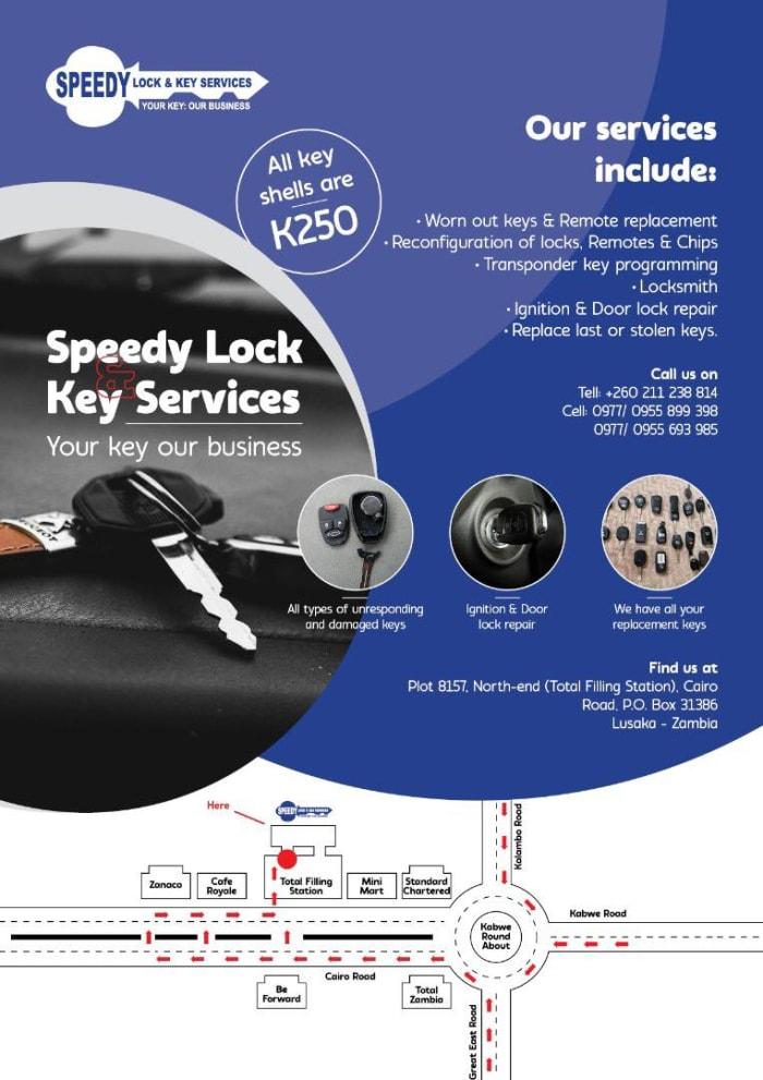 Key shells available at K250