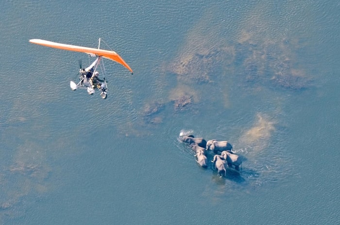 Game viewing from sky, now that is what we call an adventure!